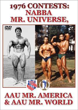 1976 Contests: NABBA Mr. Universe, AAU Mr. America & AAU Mr. World