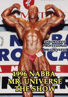 1996 NABBA Universe: Men - The Show (Digital Download)